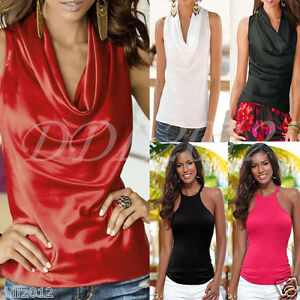 Fashion-Women-Summer-Casual-Vest-Top-Sleeveless-Blouse-Tank-Blouse-Tops-T-Shirt