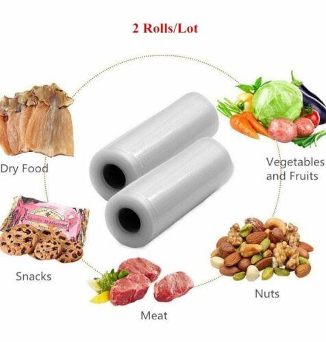 """2-Pack 11/"""" X 197/"""" Rouleaux Food Saver Magic Seal pour scelleuse sous vide sacs de stockage!!!"""