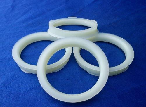 4 Piezas Anillas de centrado 67,0 mm 56,1 mm para llantas de aluminio naturaleza fz72