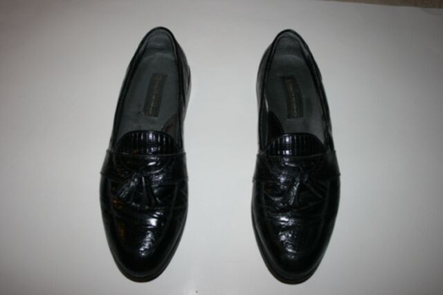 588ddef41f STACY ADAMS SANTANA MOC TOE TASSEL LOAFERS 23121-01 SIZE 9 1 2 MEN S ...