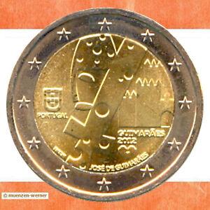Sondermünzen Portugal 2 Euro Münze 2012 Guimaraes Sondermünze Zwei