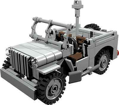 Custom Building Instruction Willys Jeep Military Police Build From