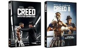 CREED 1 E 2 (2 FILM IN DVD) CON SYLVESTER STALLONE - ED. ITALIANA