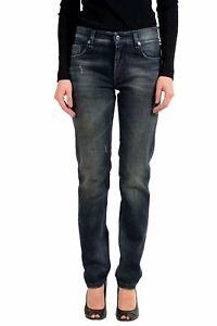 Fendi-Gray-Straright-Leg-Women-039-s-Jeans-Sz-30x34