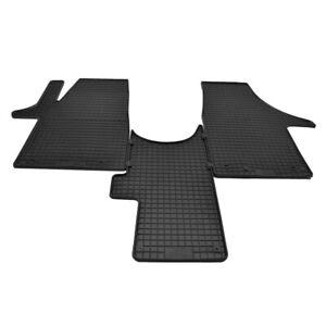 Matten Autoteppiche Passform Fußmatten Set für VW T6 Multivan ab 2015