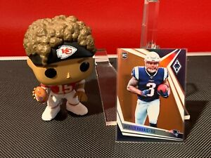 2019 Panini Phoenix N'Keal Harry Rookie Orange Prizm #18/99 New England Patriots
