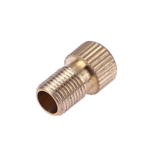 Bicycle Bike Tire Valve Adapter Convert Presta Cycling Pump Accessories Gold