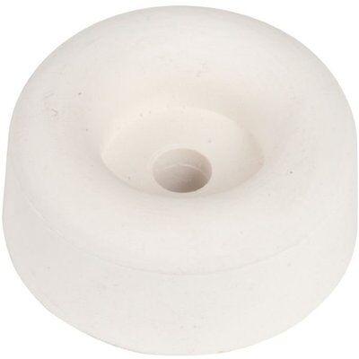 VOIR TABLEAU DIMENSIONS Butoir Caoutchouc Blanc Butoir Vertical