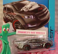 Case L 2015 Hot Wheels SUPER VOLT #22∞Gray-Silver;red rim pr5∞Street Power∞