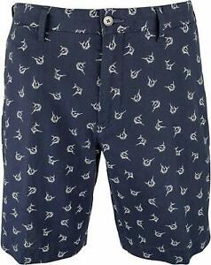 Polo-Ralph-Lauren-Mens-Big-and-Tall-Linen-Blend-Chino-Shorts-44B-Navy-Sailfish