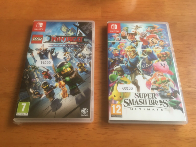 Smash Ultimate og Lego Ninjago, Nintendo Switch, Velkommen…