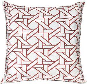 Threshold Decorative Double Sided Sofa Toss Pillow Orange Oversized