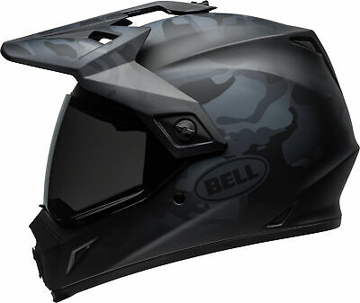 Bell MX-9 Adventure MIPS Full-Face Motorcycle Helmet Stealth Matte Black Camo, XX-Large