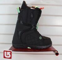 2016 Burton Mint Snowboard Boots Womens Size 7 Black / Mint