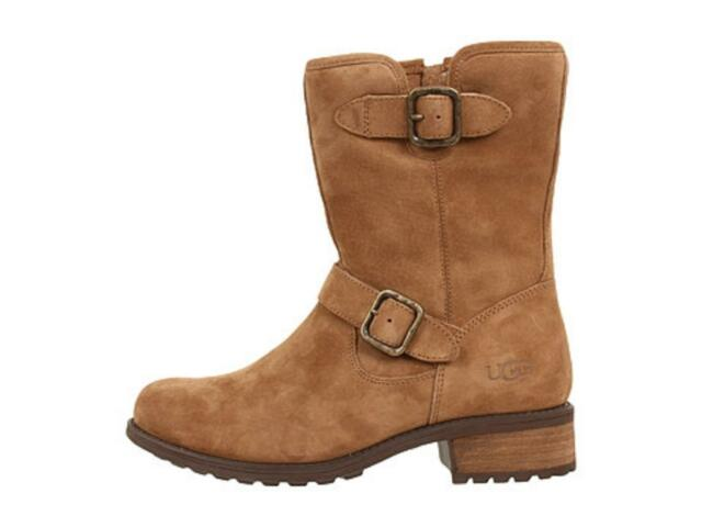 9c1d8a67164 Women's Shoes Authentic UGG Australia CHANEY Short Boots Winter Suede  Chestnut