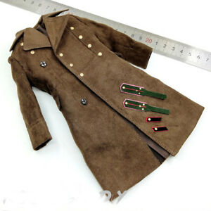 DID D80132 1//6 Scale Armored Division Temporary Commander Cotton Coat Model Toy