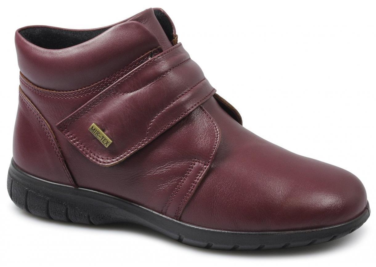 Cotswold Chalford Señoras de de de mujer Real Cuero Impermeable botas al tobillo con cierre de contacto a47e2e