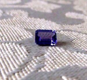 SALE-8-x-6mm-034-A-034-Quality-Natural-Emerald-Cut-Tanzanite-1-50-minimum-carat