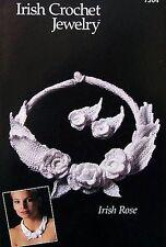 Irish Crochet Jewelry  Irish Rose Pattern  Annie's Attic