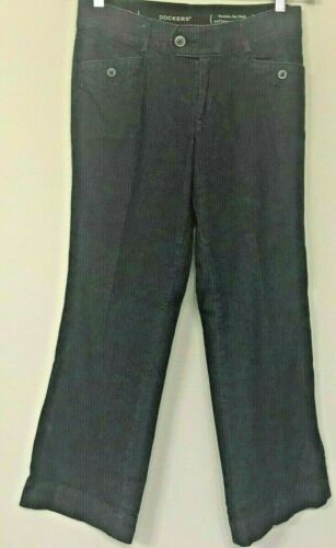 Dockers Womens Jeans Dark Blue Cotton Boot Cut Sz