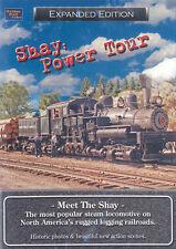 Shay Power Tour The Mount Emily Shay DVD NEW Golden Rail Logging locomotive