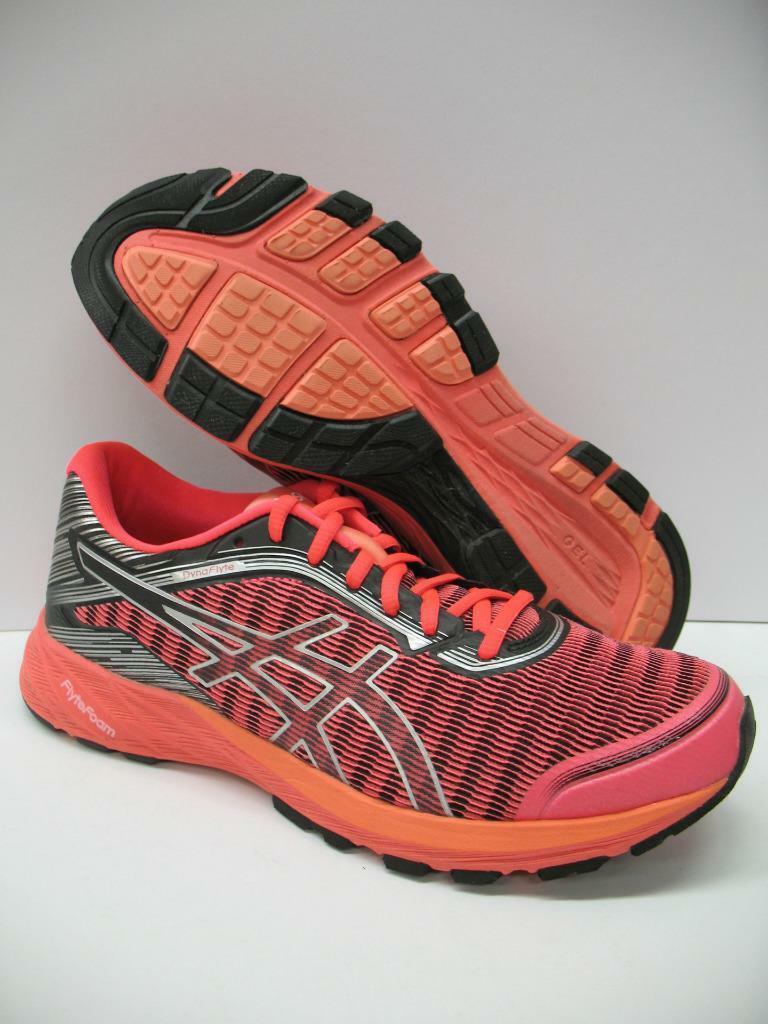Asics T6F8Y DynaFlyte Running Training Schuhes Sneakers Diva Pink Silver Damenschuhe 10