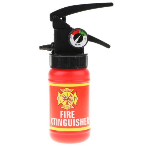 Kids Fireman Costume Fire Extinguisher Toy Boy Pretend Halloween Fancy Dress