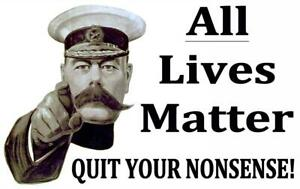 All Lives Matter Lord Kitchener Fridge Magnet