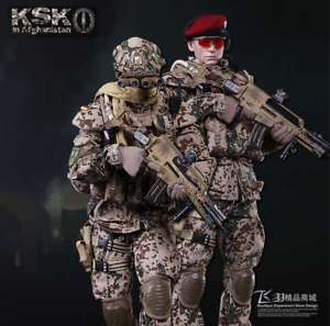 1 6 Scale Soldier German Special Forces KSK Assaulter in Afghanistan Doll Figure