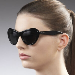 f1adeec99250 Image is loading Miu-Miu-SMU-01N-Cat-Eye-Sunglasses-in-