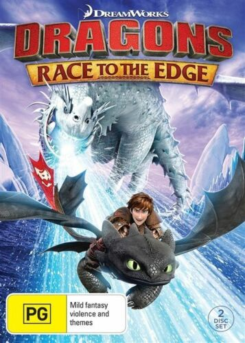 1 of 1 - Dragons - Race To The Edge Dvd 2-Disc Set Dreamworks Animation Adventure Comedy