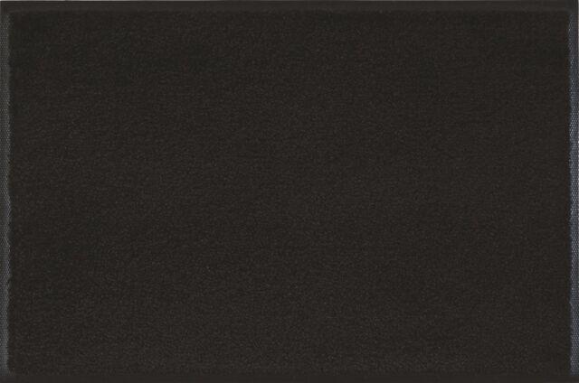 wash+dry Fußmatte einfarbig Raven black Schwarz 7 Größen Pflegeleicht robust