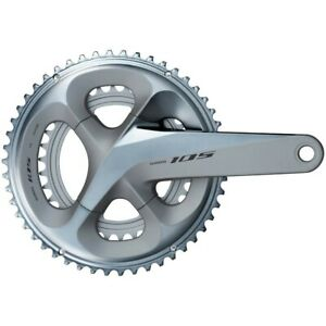 Shimano-105-FC-R7000-105-Double-Chainset-HollowTech-II-172-5-mm-53-39T-Silver