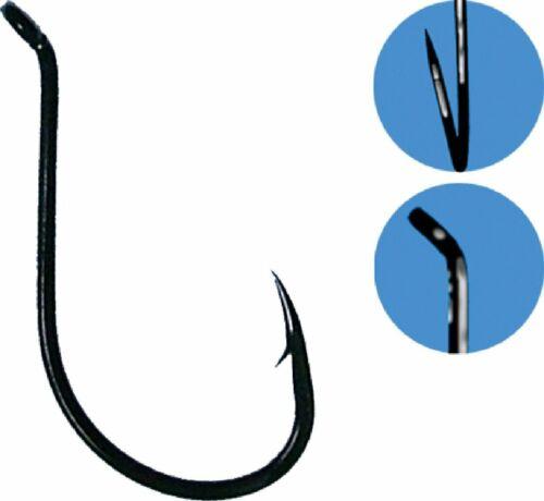 GAMAKATSU Octopus Hooks N.S BlackValue Pack 25Pcs 1//0 2//0 3//0 4//0 5//0