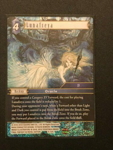 Lunafreya 8-132L Water Final Fantasy TCG Opus 8