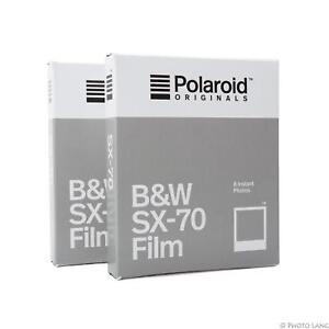 5x Polaroid für Polaroid SX 70 SX70 s//w Schwarz//Weiß Sofortbildfilm Sofortbild