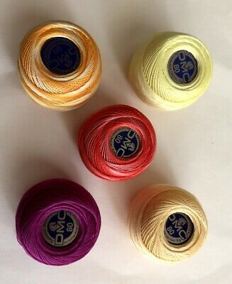 DMC Special Dentelles Crochet No.80 Colour Green Colour Number 701