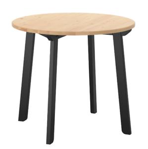 Ikea Tisch Küchentisch.Details Zu Ikea Gamlared Tisch Antikbeize Schwarz ø85cm Tisch Küchentisch Esstisch