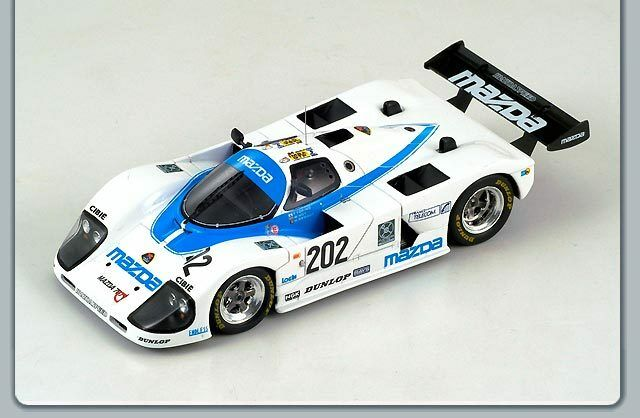 Mazda 767  202 Le Mans 1988 1:43 Model S0642 SPARK MODEL