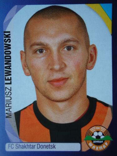 Panini 390 Mariusz Lewandowski Shakhtar Donetsk UEFA CL 2007//08