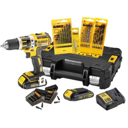 DEWALT 18 V Batterie coup électrique-SET 2x 1,5 AH Batterie incl. accessoires dck795s2t