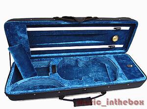 New-4-4-Enhanced-Violin-Case-VC-350BBL-Free-U-S-Shipping