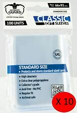 1000 Soft Sleeve Deck Protectors for MTG / Match Attax / Sports Cards / Pokemon