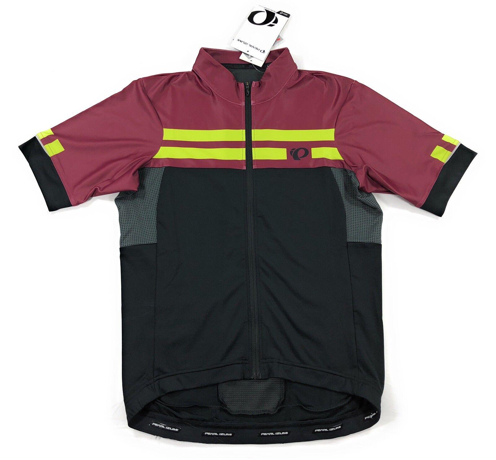Pearl Izumi PRO Escape Bike Cycling Jersey Mens Medium Tibetan Lime