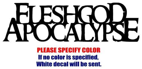 "Fleshgod Apocalypse Graphic Die Cut decal sticker Car Truck Boat Window 12/"""