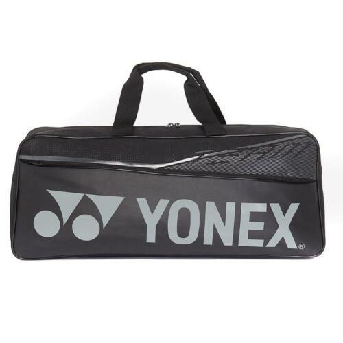 Yonex Team Tournament Tennis// Badminton Bag For Gear And Racquets In Black