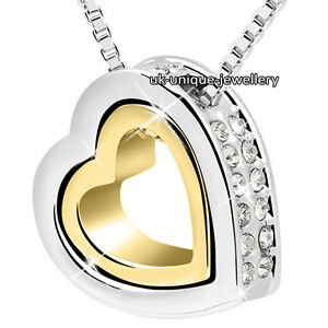 BLACK-FRIDAY-DEALS-Xmas-Heart-Crystal-Diamond-Necklace-Gold-Silver-Gifts-For-Her