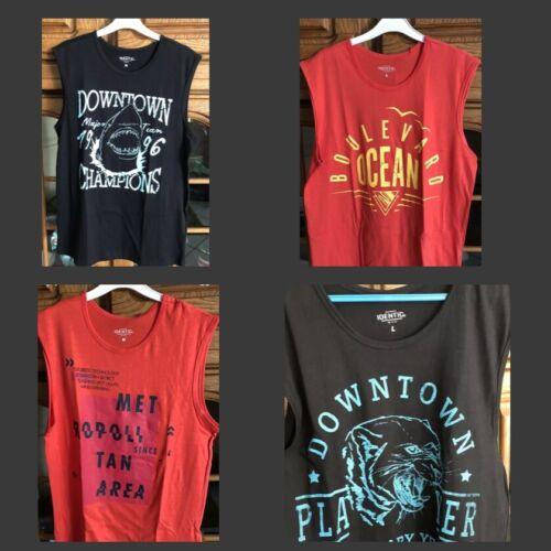 Identic Herren Shirt Ärmellos M oder L Neu