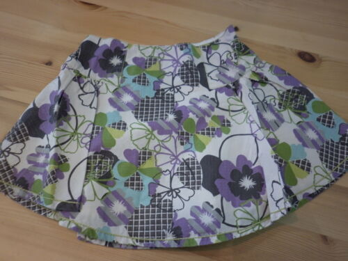 NEW  FAT FACE SKIRT girls lilac purple green floral  flippy age 2 years kids