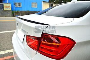 Pintado-Negro-Brillante-BMW-F30-Sedan-2012-2017-Aleron-Del-Labio-Cargador